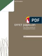 Carnet Effet Papillon