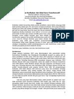 Perubahan Kurikulum Dan Ideal Guru Transformatif Paper IPTPI 27-3-2013