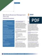 BA Business Management Top-Up Uni of Sunderland
