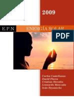 ENERGÍA SOLAR - Una solución limpia y fiable de producción de energía