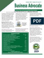 WKACC Newsletter October 09