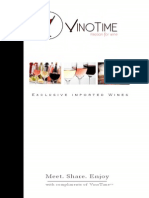 VinoTime Booklet Claime d'Or