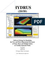 Hydrus3d User Manual