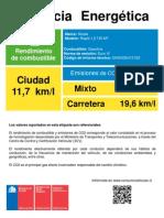 Eficiencia Energetica Vf Rapid 1.2 Tsi Mt