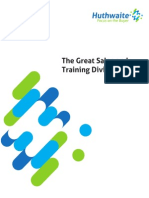 The Great Sales and Training Divide