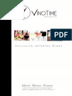 VinoTime Booklet Spier 21 Gables & Signature
