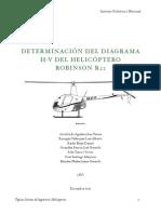 DETERMINACIÓN DEL DIAGRAMA H-V DEL HELICÓPTERO ROBINSON R22