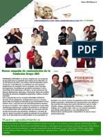 Newsletter Curados de  Cáncer.Febrero de 2012