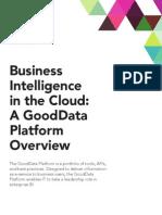 Platform Technical Brief GoodData