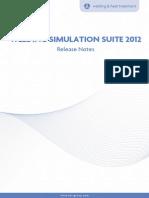 Welding Simulation Suite 2012