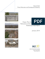 Master Plan for the Potential Relocation of the Draper Prison  Preliminary Draft Report 2014