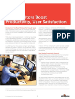 Dual Monitors Boost Productivity Whitepaper