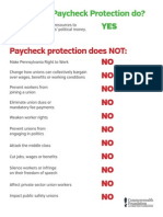 What is Paycheck Protection?