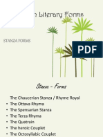 Stanza Forms