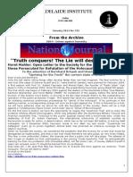 Adelaide Institute - Newsletter 732 - Horst Mahler & Emperor Constantine & Gerd Honsik