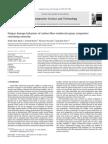 Fatigue damage behaviors of carbon fiber-reinforced epoxy composites containing nanoclay