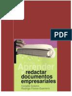 Aprender a redactar documentos empresariales (2 capítulos)