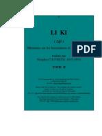 Les Cinq Classiques - IV - Le Livre des Rites (Lǐ Jì). - Tome II