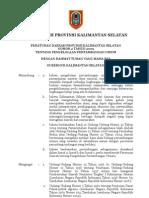 PERDA NOMOR 2 TAHUN 2009 Pertambangan Kalimantan Selatan