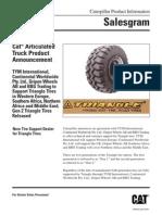 TEKQ0441-01 Tires Articulated Trucks