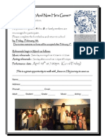 The Passion Play Sign Up Form