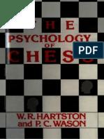 W. R. Hartston & P. C. Wason - The Psychology of Chess