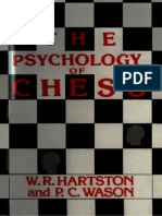 W. R. Hartston & P. C. Wason - The Psychology of Chess