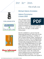 Zdenko Krnic (Chief Editor) - Chess Cafe - Informant - 1-138