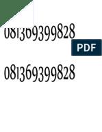 081369399828 pak siswadi