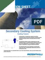 Bernoulli Filter Application Sheet - Cooling Tower