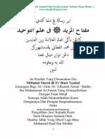 01 Miftahul Murid Fi 'Ilmit Tauhid