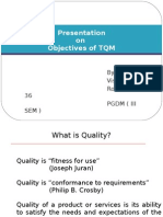 objectives of TQM