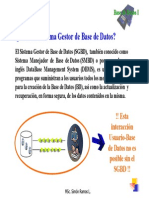 Funciones del SGBD