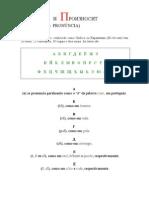 alfabeto e pronuncia