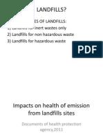 LANDFILLS Presentation