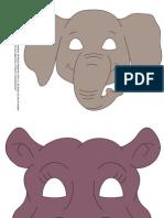 màscares d'animals