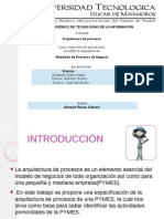 Arquitectura de Procesos Pymes
