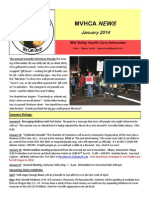 Mid-Valley Health Care Advocates newsletterJanuary 2014