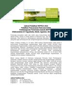 Pelatihan Penyusunan Rencana Induk Pembangunan Pariwisata Daerah (RIPPDA)
