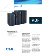 EATON E Series DX 20-40kVA Brochure