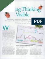 making things visiible