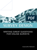 Survey Writing