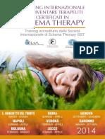 Schema Therapy Training Internazionale per la Certificazione ISST