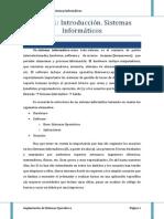 ISO TEMA 1 Introduccion Sistemas Informaticos