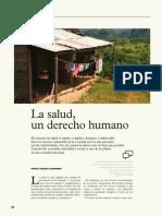 La salud un derecho humano artículo Marisa Aizenberg