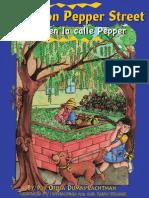 Pepita on Pepper Street / Pepita en La Calle Pepper by Ofelia Dumas Lachtman