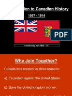 introduction to canadian history 1867-1914