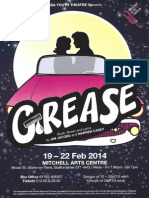 Grease Flyer