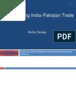 Nisha Taneja -Annual Conf India Pak Jan 2014