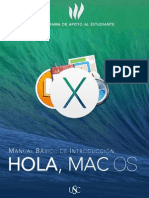 Taller Hola Mac OS X Mavericks